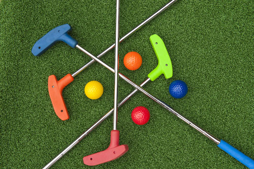 Family Putting Green