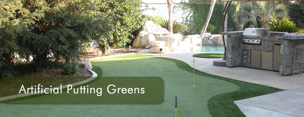 artifical putting greens