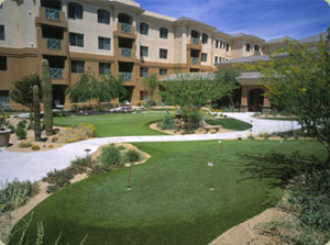 commercial synthetic turf installations